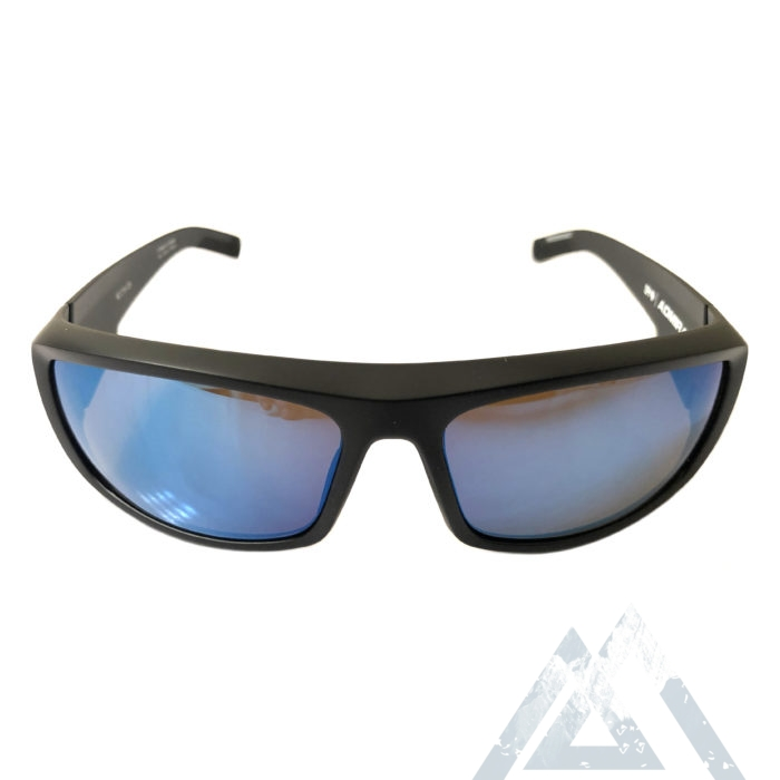 NEW Spy Optic Admiral Sunglasses - Matte Black - Bronze w/ Blue Spectra