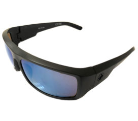 NEW Spy Optic Admiral Sunglasses - Matte Black - Bronze w/ Blue Spectra