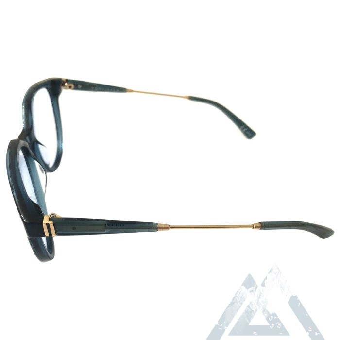 VonZipper Hyde Sunglasses - Navy w/ Gold - Clear w/ Clip-On Grey Lenses