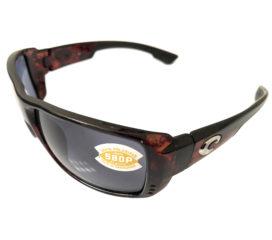 Costa Del Mar Double Haul Sunglasses - Tortoise Frame - Polarized Gray 580P Lens