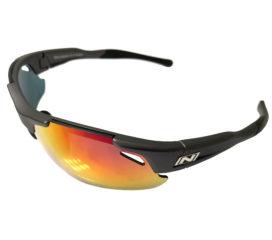 Optic Nerve Neurotoxin 3.0 Sunglasses - Matte Carbon - Smoke Red Mirror + Xtra Lenses