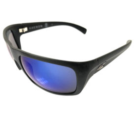 Kaenon Hodges Sunglasses - Matte Black Frame - Polarized Pacific Blue Lens