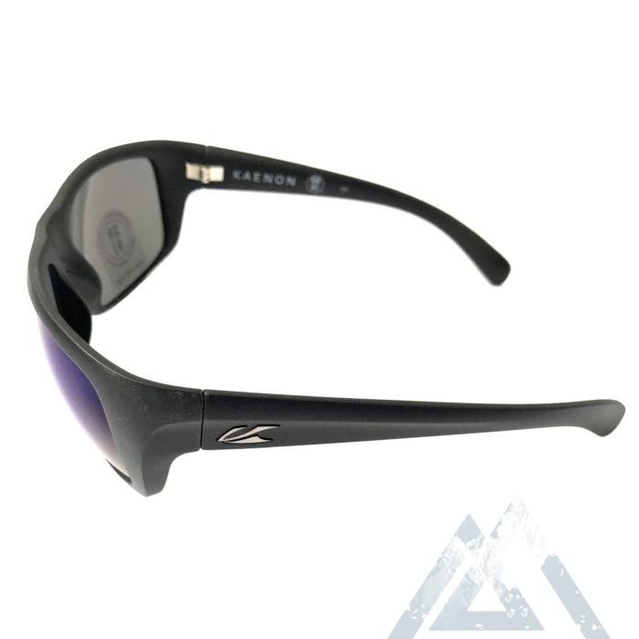 Kaenon Hodges Sunglasses - Matte Black POLARIZED Pacific Blue Lens