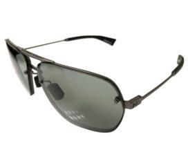 Under Armour Hi Roll Sunglasses UA - Satin Gunmetal Aviator Frame - Gray Lens