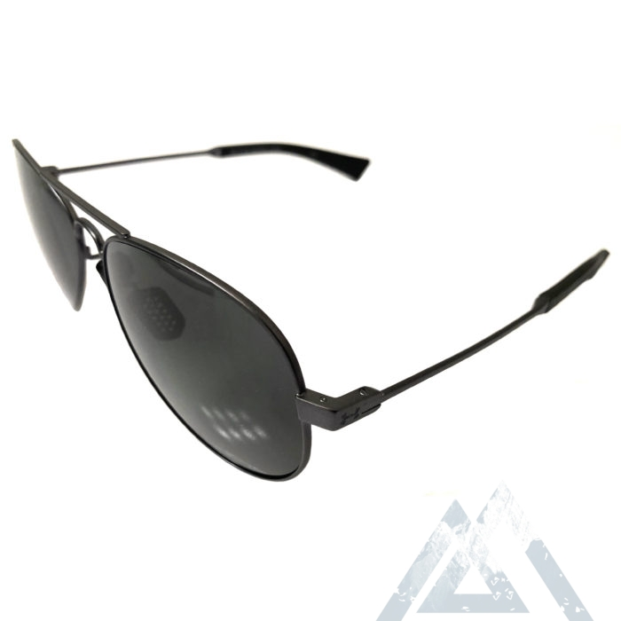 Under Armour Getaway Sunglasses UA - Black Storm - POLARIZED Gray
