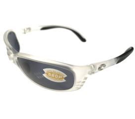 Costa Del Mar Brine Sunglasses - Matte Crystal Frame - Polarized Gray 580P Lens