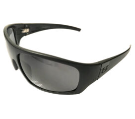 Hoven Vision Easy Sunglasses - Matte Black Frame - Polarized Gray Lens