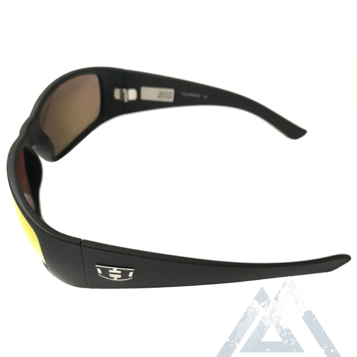 NEW Hoven Vision Ritz Sunglasses - Matte Black - ANSI POLARIZED Fire Chrome