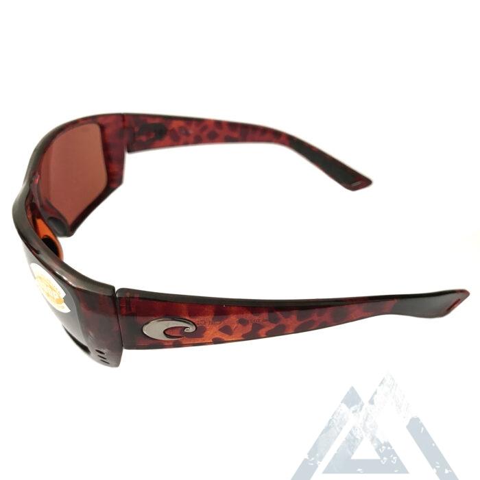 Costa Del Mar Cat Cay Sunglasses - Tortoise POLARIZED Silver Copper Mirror 580P