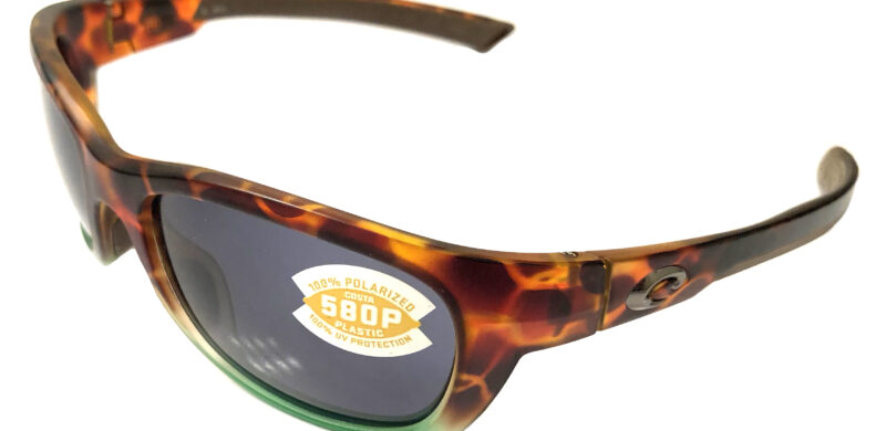 Costa Del Mar Trevally Sunglasses - Matte Tortuga Fade POLARIZED Gray 580P