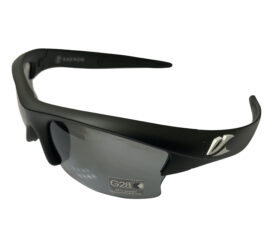 Kaenon Soft Kore S-Kore  Sunglasses - Matte Black w/ White - G28 Polarized Grey Lens