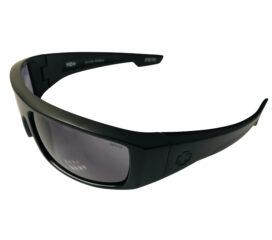Spy Optic Logan Sunglasses - Matte Black Frame - Z87.1 ANSI HD Plus Gray Green Lens
