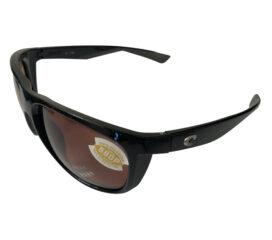 Costa Del Mar Kiwa Sunglasses - Shiny Black Frame - Polarized Copper 580P Lenses