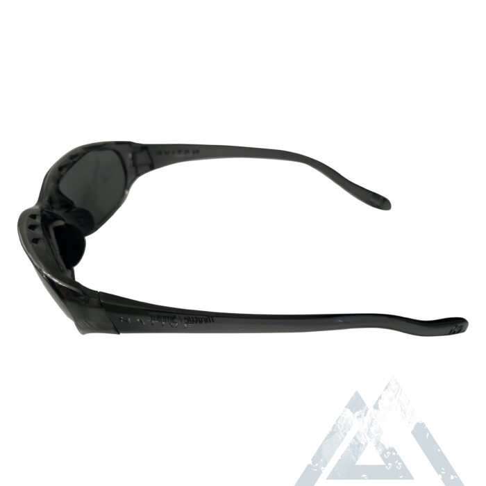 Native Eyewear Throttle Sunglasses - Smoke Frame - POLARIZED Gray Lens