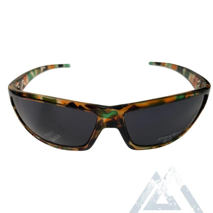 Hoven Vision Standard Sunglasses - Army Camo Frame - Grey Lens