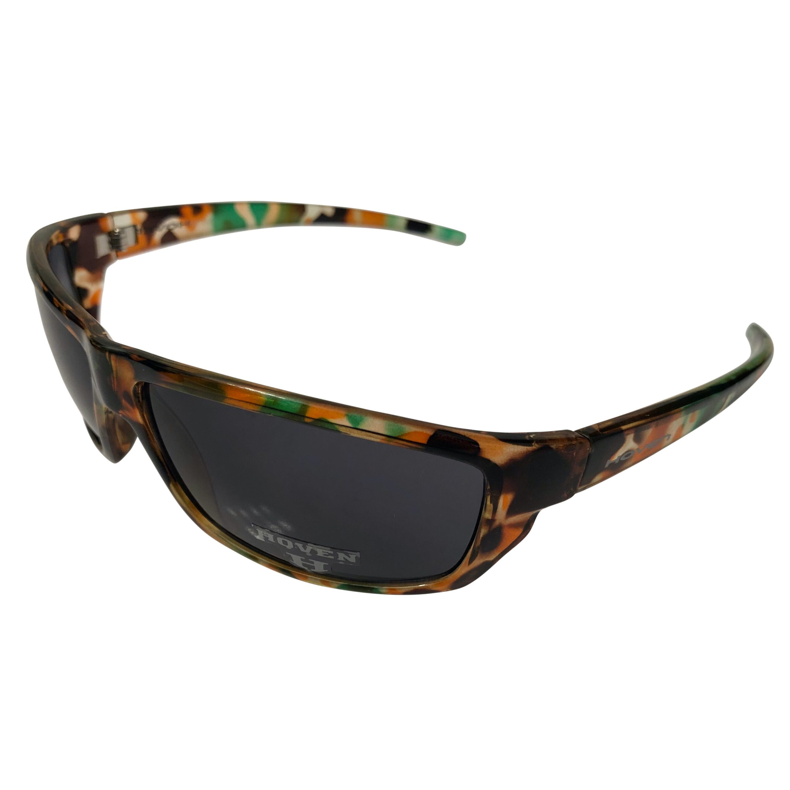 Hoven Vision Standard Sunglasses - Durable Army Camo Frame - Grey Lens