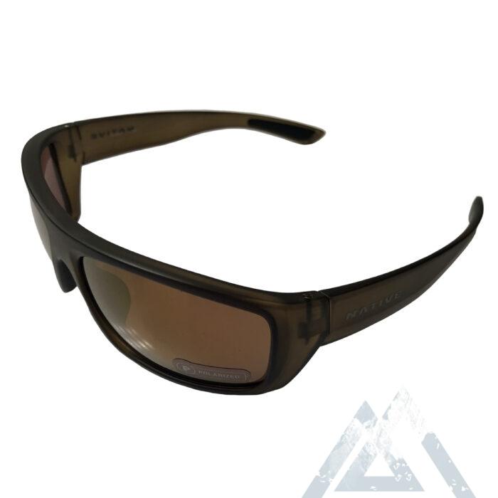 Native Eyewear Distiller Sunglasses - Matte Moss Frame - POLARIZED Bronze Reflex