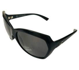 Kaenon Shilo Sunglasses - Black Frame - Polarized Gray G12 SR-91 Lenses - Made in Italy