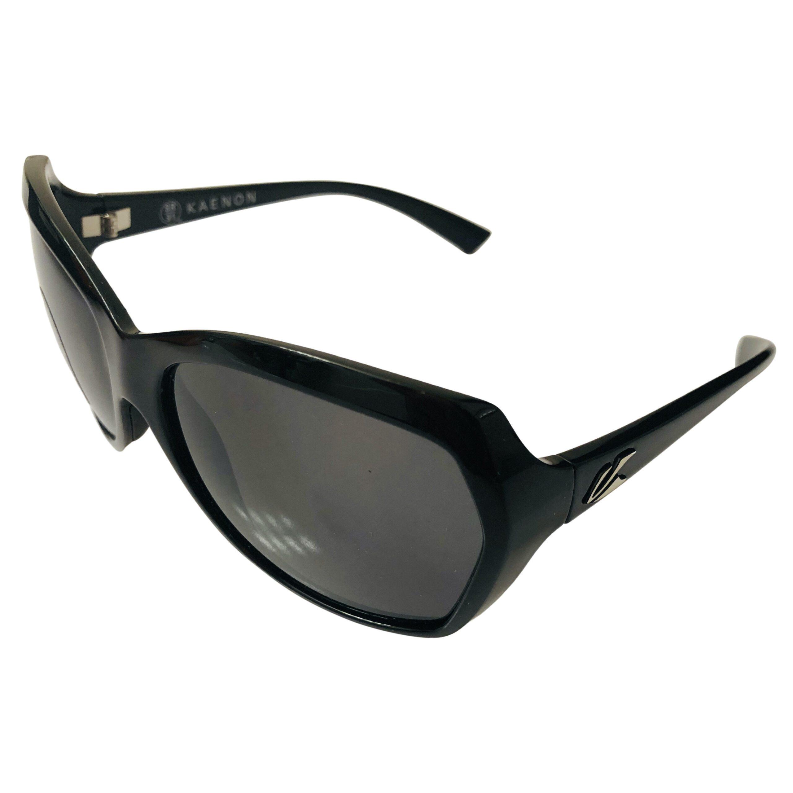 Kaenon Shilo Sunglasses - Black Frame POLARIZED Gray G12 SR-91 Lenses