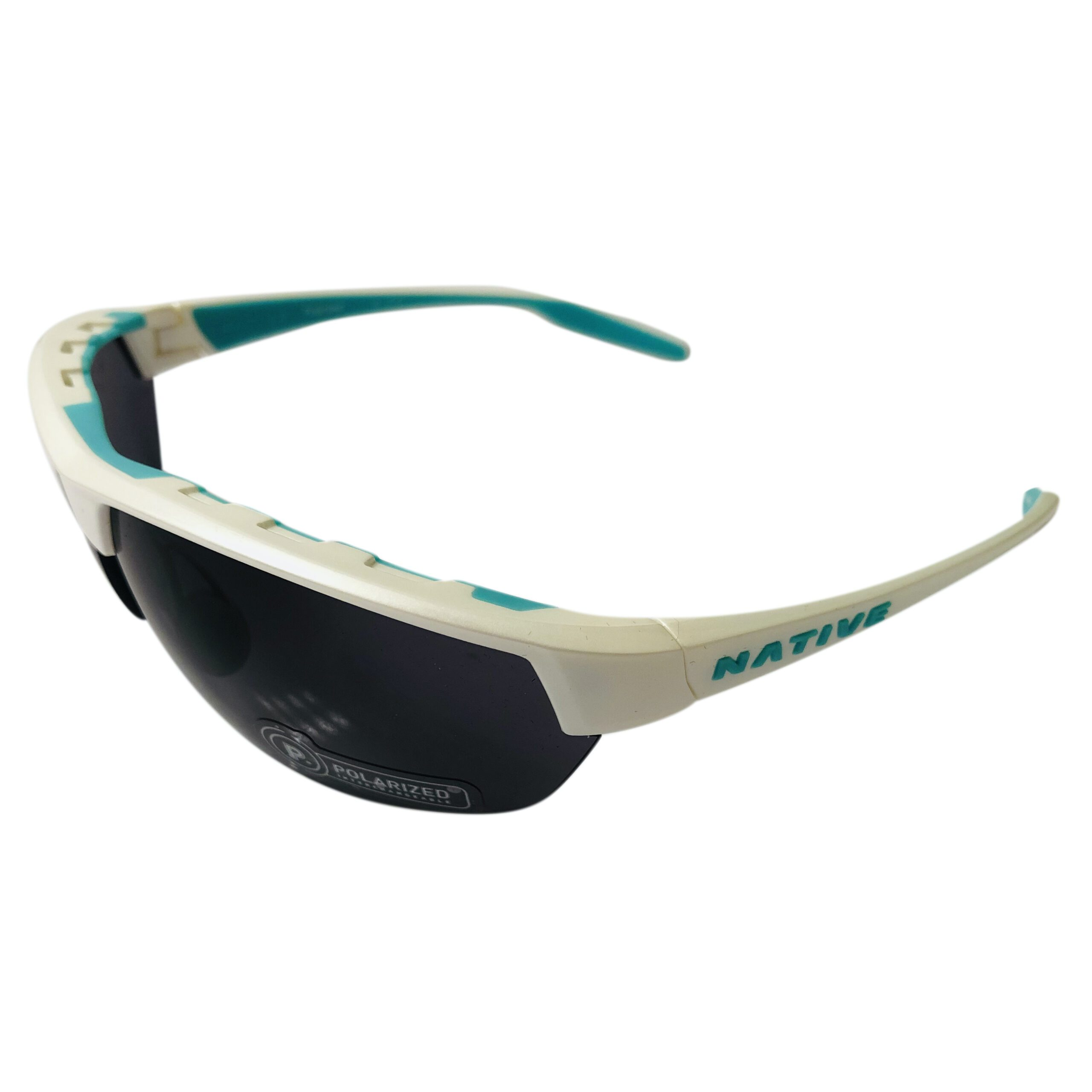 Native Eyewear Hardtop Ultra Sunglasses XTRA Lens - Pearl White POLARIZED N3 Gray