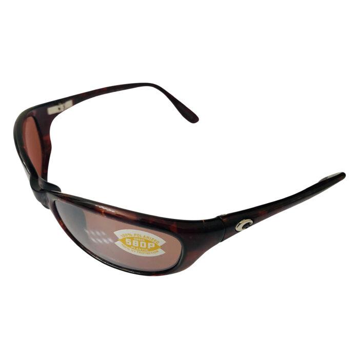 Costa Del Mar Harpoon Sunglasses - Tortoise POLARIZED Silver Copper Mirror 580P