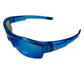 Under Armour Igniter Sunglasses UA - Crystal Blue Frame - Blue Multiflection Lens