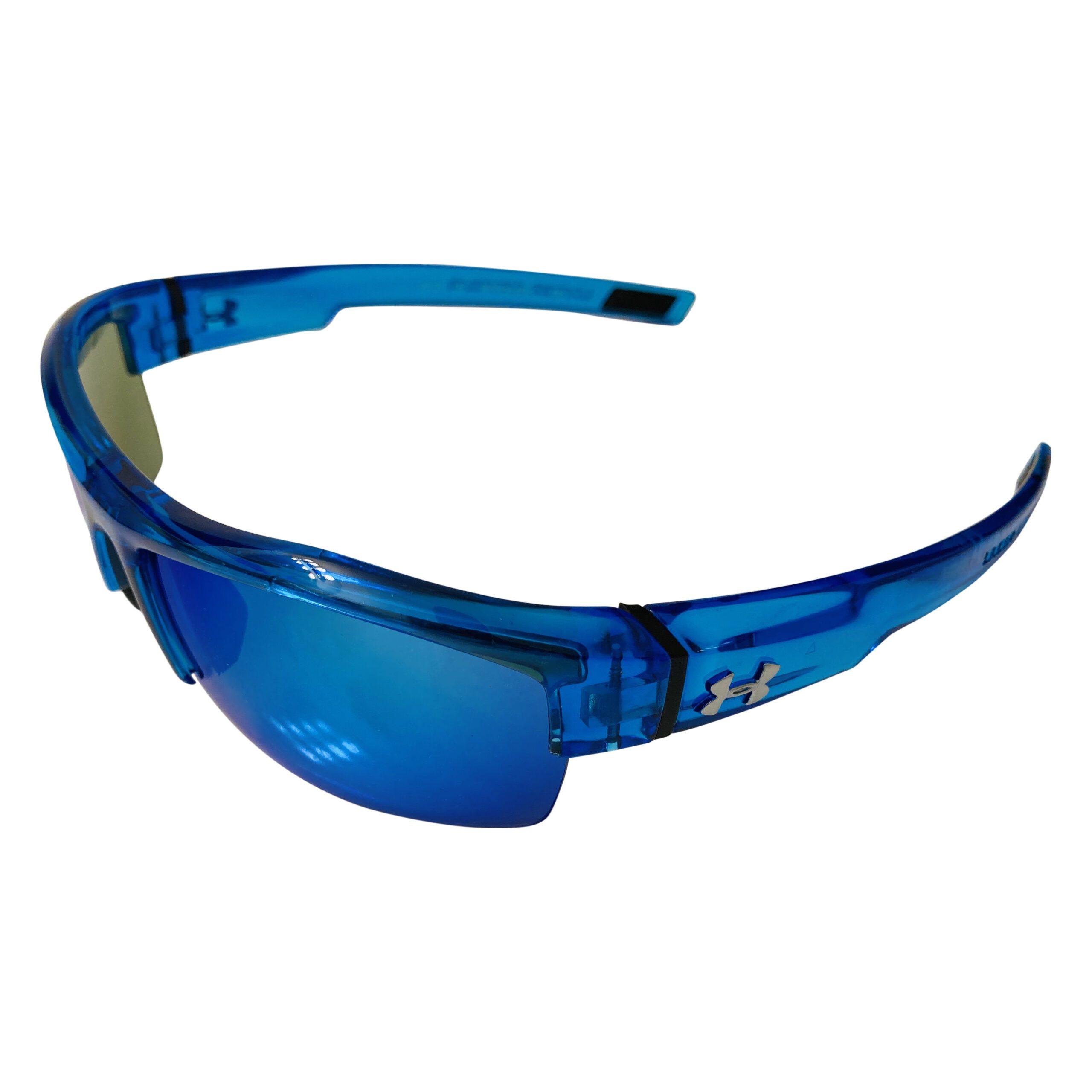 Under Armour Igniter Sunglasses UA - Crystal Blue - Blue Multiflection Lens