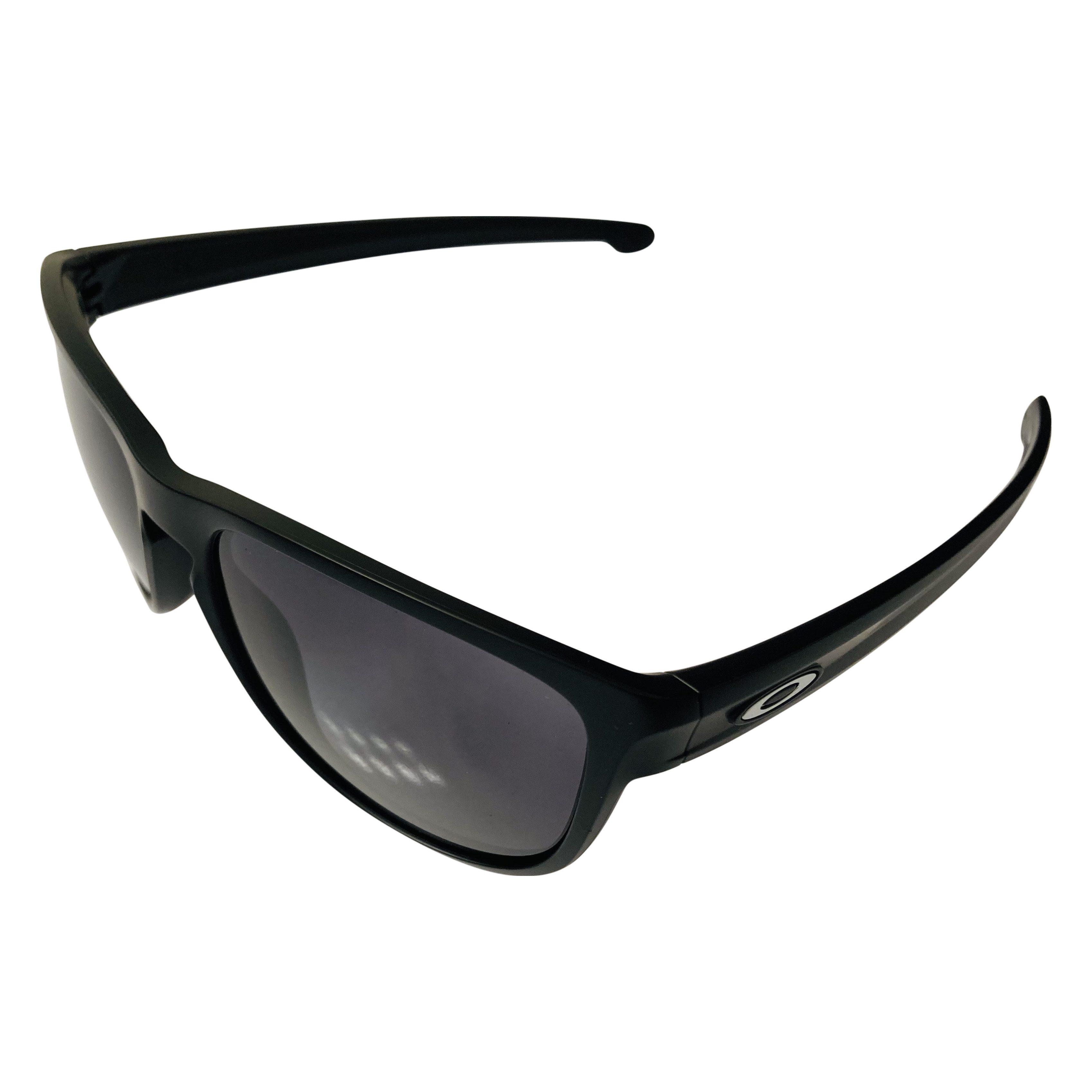 Oakley Sliver R Sunglasses - Matte Black Frame - Grey OO9342-01