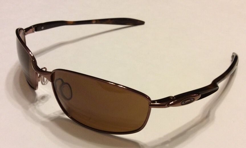 Oakley Blender Sunglasses  oakley blender mph brown chrome dark bronze oo4059 16