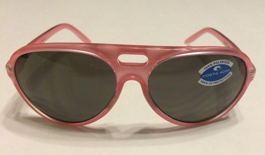 c288fe7cf76a0 Costa Del Mar Grand Catalina – Coral Pink – Gray 400P Polarized ...