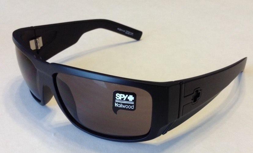 4a4caf0a9dad7 Spy Optic Hailwood – Matte Black Frame – Grey Lens – 671063374129 ...