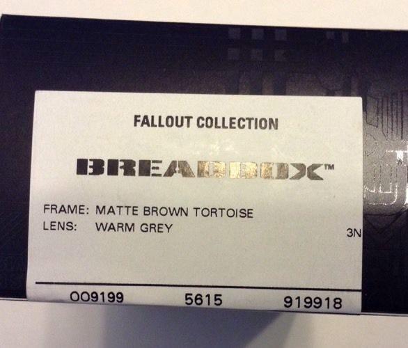 b781b391f53 Oakley Breadbox – Matte Brown Tortoise – Warm Gray – OO9199-18 ...