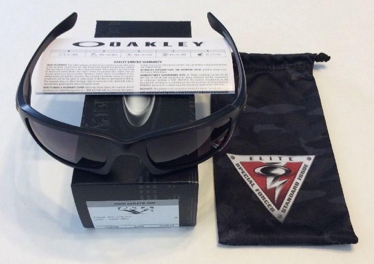 f219c874058 NEW Oakley Fives Squared Sunglasses – Matte Black – Warm Grey – SI OO9238-10