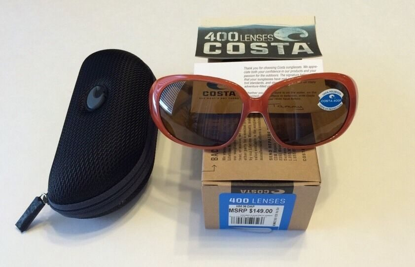 7a22ff43b36ad Costa Del Mar Hammock – Salmon White – Polarized Dark Amber 400P ...