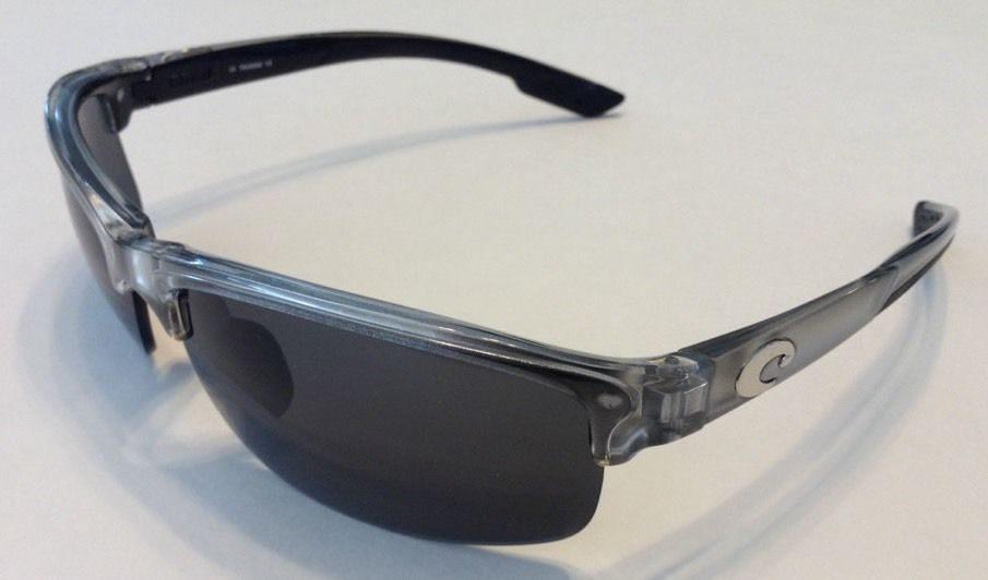 Costa Del Mar Indio Silver Frame Polarized Gray Lens