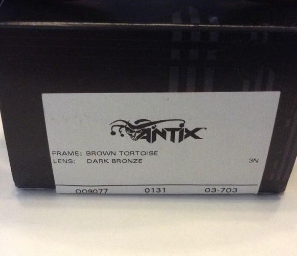 05443e1580 Oakley Antix – Brown Tortoise – Dark Bronze Lens – 03-703 ...