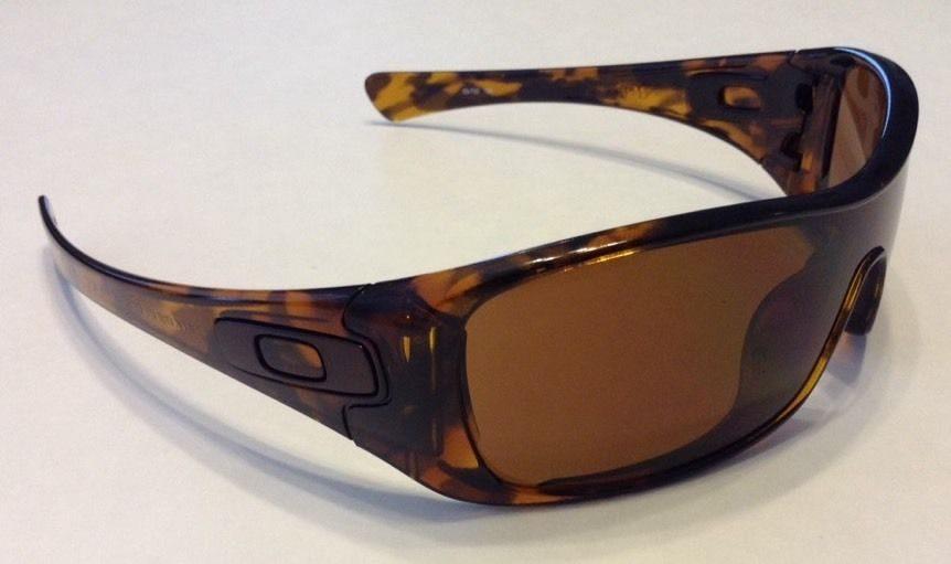 Oakley Antix Brown Tortoise Dark Bronze Lens 03 703
