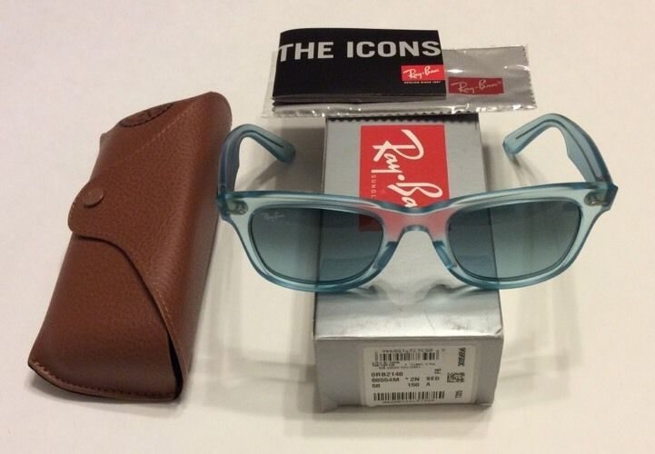 dc40874b8b Ray-Ban Wayfarer Ice Pops – Light Blue Gradient – RB2140 – 60554M ...