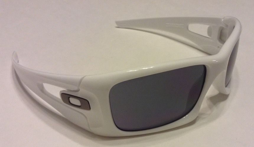 Oakley Crankcase MPH Polished White Gray Lens OO9165 19