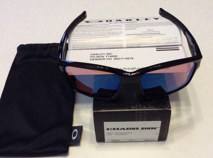 Oakley Chainlink – Polished Black – G30 Iridium Lens – OO9247-02 ... b8499c691084